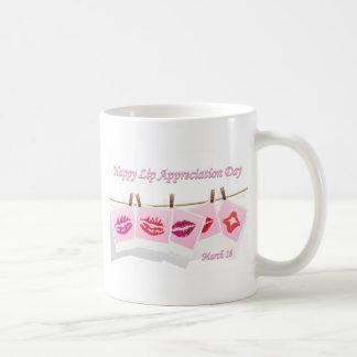 Lip Appreciation Day March 16 Mugs