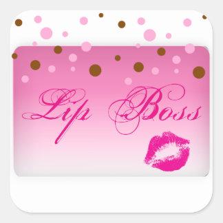 Lip Boss Sticker