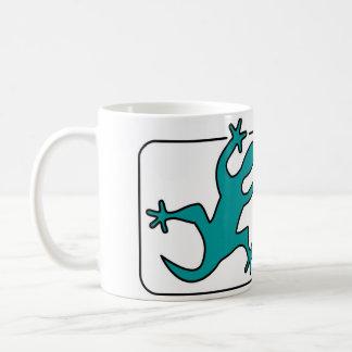 Lip licking Lizard Classic White Coffee Mug