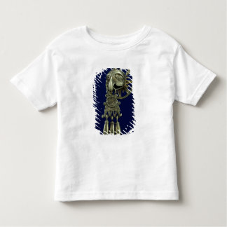 Lip plug of bird god toddler T-Shirt
