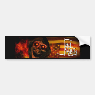 LIP REAPER HEAD BMPRSTKR 1 BUMPER STICKER