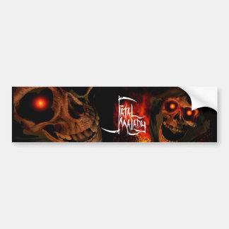 LIP REAPER HEAD BMPRSTKR 2 BUMPER STICKER