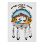 "Lipan Apache Tribe of Texas 24""x 33.6"" Poster"