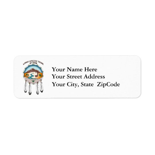 Lipan Apache Tribe of Texas Address Labels