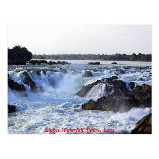 Liphee Waterfall Postcards