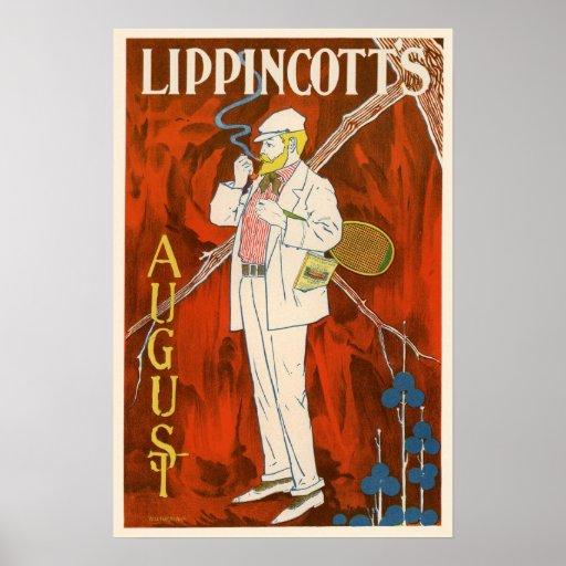 Lippincott's August Poster