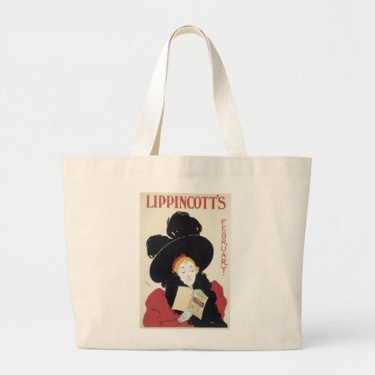 Lippincott's February Large Tote Bag