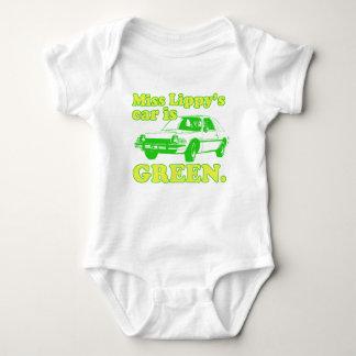 Lippy Car Baby Bodysuit