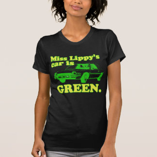 Lippy Car T Shirts