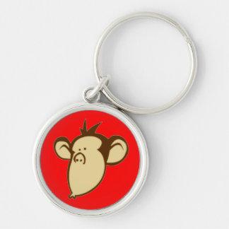 Lippy Monkey Keychain