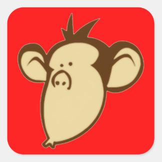 Lippy Monkey Stickers