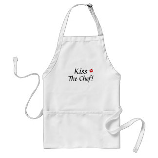 lips1, Kiss , The Chef! Standard Apron