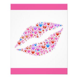 lips-621210 LIPS SMILE KISS LISSES HEARTS LOVE FLI Flyers