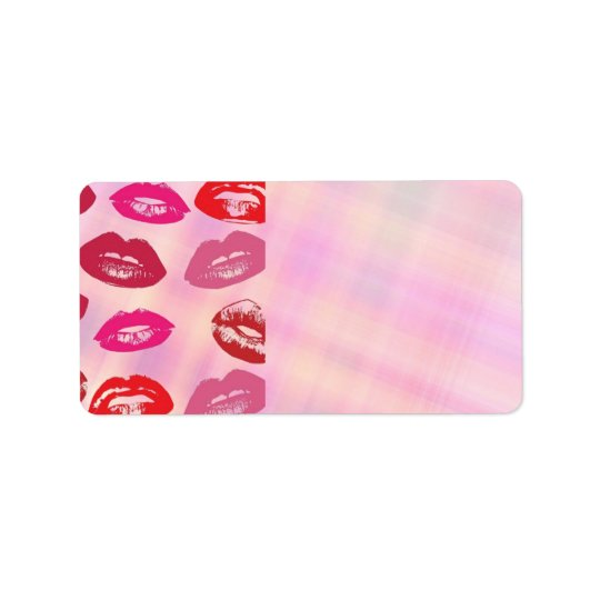 Lips Addres Label Address Label