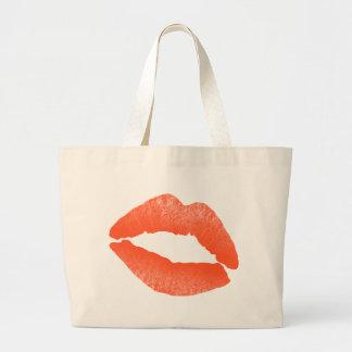 Lips and Kisses Jumbo Tote Bag