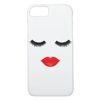 Lips and Lashes iPhone 8/7 Case