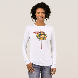 Lips and snail long sleeve T-Shirt