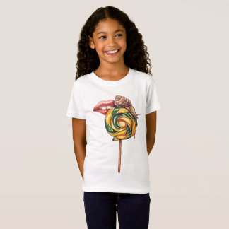 Lips and snail T-Shirt