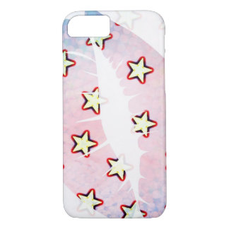 Lips and stars iPhone 7 case