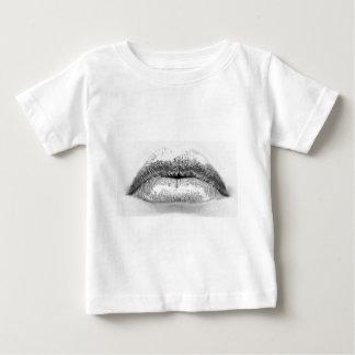 lips-bw-closed-03-June 09, 2011-0003-Edit Baby T-Shirt