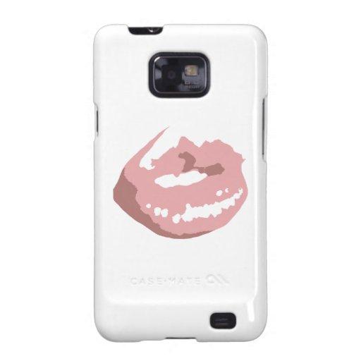 Lips Galaxy SII Covers