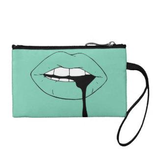 lips coin purse