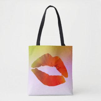 Lips Custom All-Over-Print Tote Bag