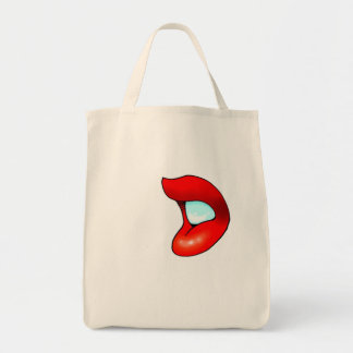 Lips Grocery Tote