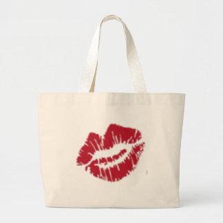 Lips! Jumbo Tote Bag
