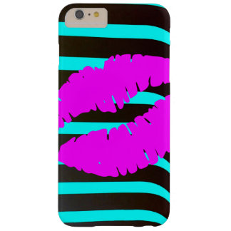 Lips kiss glamour fashion beauty stylish trendy barely there iPhone 6 plus case
