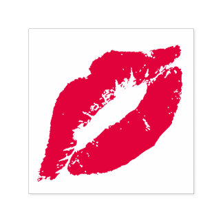 Lips Kiss Self-inking Stamp