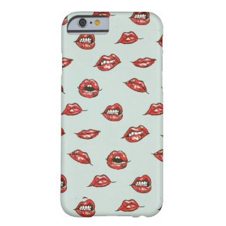 Lips pattern barely there iPhone 6 case