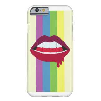 Lips & Rainbow Barely There iPhone 6 Case