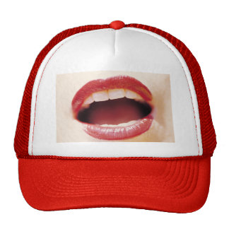 "Lips - Say ""Ah!"" Cap"