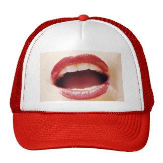 Lips - Say Ah Mesh Hats