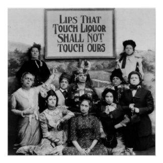 Lips That Touch Liquor Shall Not Touch Ours Poster