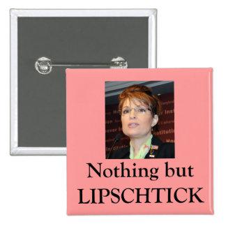 Lipschtick 15 Cm Square Badge