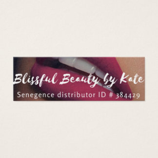 Lipsense/ Distributor Business Cards