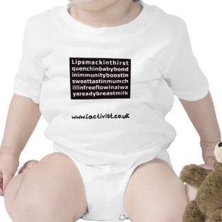 Lipsmackin....breastmilk Baby Bodysuit