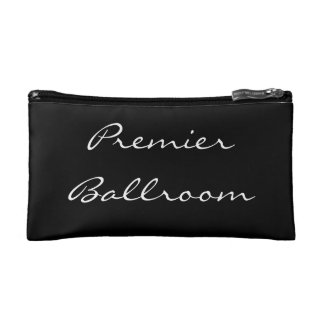 """Lipstick and Lashes"" Cosmetic Clutch Cosmetic Bag"