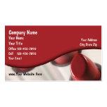 Lipstick Business Cards