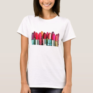 lipstick collage T-Shirt