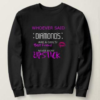 Lipstick Is My BFF Sweatshirt
