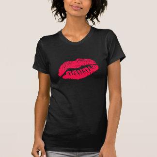 Lipstick Kiss Dark Shirt