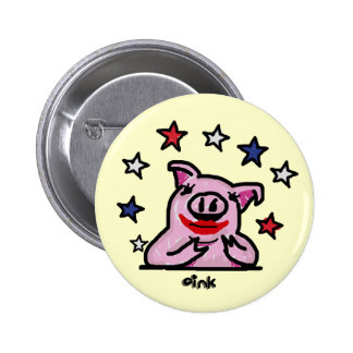 Lipstick on a Pig Pins