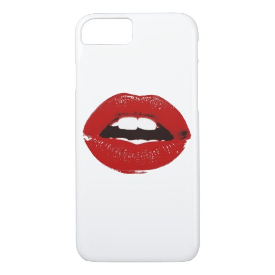 lipstick pop art phone case