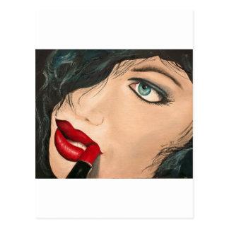 Lipstick Post Card