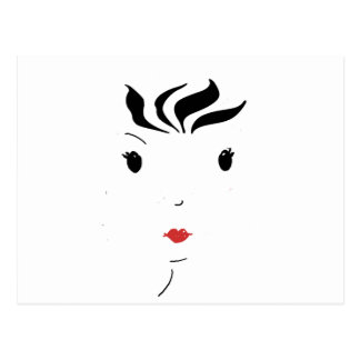 Lipstick Postcard
