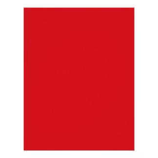 Lipstick Red Valentines Solid Custom Flyer
