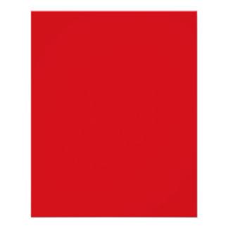 Lipstick Red Valentines Solid Flyer